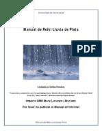 Manual Reiki Lluvia de Plata