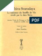 Alain Daniélou - Le Shiva-Svarodaya