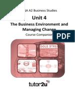 AQA BUSS4 Course Companion Edition 1