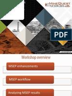 New for MineSight Economic Planner Presentation by Jose Sanchez