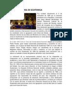 Historia Del Coro Nacional de Guatemala