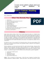 Dr.Tateishi Cancer Formula