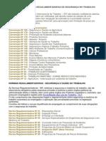 Resumo Explicativo Das Convenções e Normas Regulamentadoras
