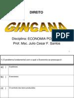 Gincana Disc Economia Politica