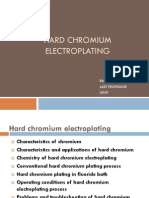 Hard Chromium Electroplating