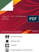 A318 Diferencias Avianca 2011 Curso MAYOl