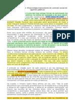 Ação popular-jurisprudência do STJ