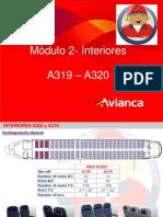 Módulo 2 - A319 A320 Interiores