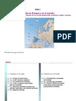 Presentacion Tema 1- Espana en Europa y El Mundo-parte2