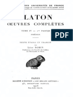 PLATON, L. Robin Tadd. Phedon 1926