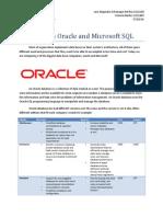 Databases comparison