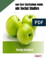 Social Studies Curriculum Pacing Guide 1st Grade
