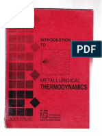 Metallurgical Thermo Dynamics9 r h Tupkary