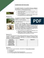 Ejercicios de Ecología