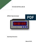 Woodward SPMD 11 Manual