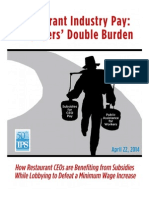 IPS Restaurant Industry Pay Report 2014