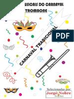 Book Do Carnaval - Trombone