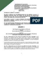 Derecho Penal II Intensivo II Parcial Art. 318 Al 631 Abril 5, 2014