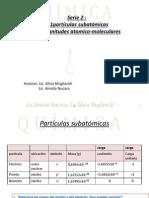 2-Serie 2 Estructura Atómica Magnitudes Atomico Moleculares