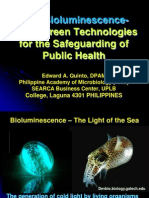 A Lecture on Using Bioluminescence for our Greener World