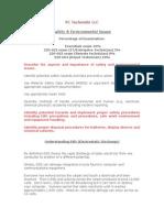 Safety Environmental Domain