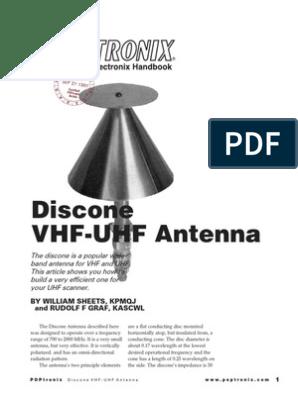 Disc One Antenna   Antenna (Radio)   Coaxial Cable