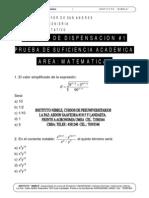 Examenes Facultad de Ingenieria Matematicas