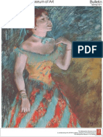 Degas a Master Among Masters the Metropolitan Museum of Art Bulletin v 34 No 4 Spring 1977