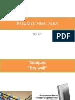 Resumen Final Alba