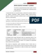 5.2 Componentes Lexicos, Patrones y Lexemas