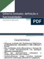 Gêneros Textuais - Aula 03
