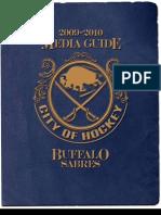 Buffalo Sabres 2009-2010 Media Guide