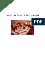 Apostila Gerência de Restaurante 2011