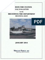 Wright Pierce report on Cooks Corner Fire Station