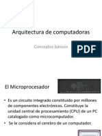 1 - Arquitectura de Computadoras - Conceptos Basicos - Copia