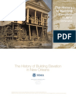 History of Building Elevation in New Orleans - FEMA 2012
