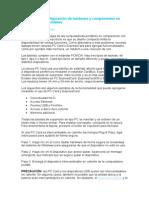 Instalación y Configuración de Hardware y Componentes en Computadoras Portátiles