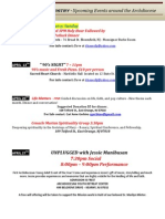 Upcoming Events WebApril2013