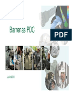 Barrenas PDC