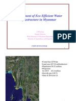 Development of Eco Efficient Water Infrasturcture in Myanmar