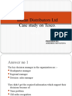 Case Study on Tesco