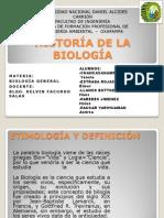 Historía de La Biología