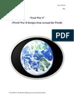 Food War 2 World War II Recipes