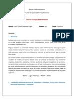 biocenosis, autoecología, sinecología