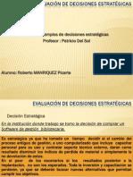 Tarea 1 Decisiones Estrategicas Roberto Manriquez