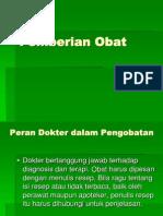 PEMBERIAN OBAT