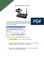 Configuración Modem ZyXEL P660HW