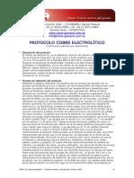 Protocolo Cobre Electrolitico