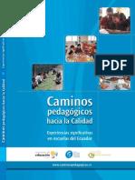 2011 Egc Caminos Pedagogicos Hacia La Calidad 2 Edicin