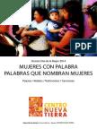 Dossier Dia de La Mujer 2014 - Centro Nueva Tierra